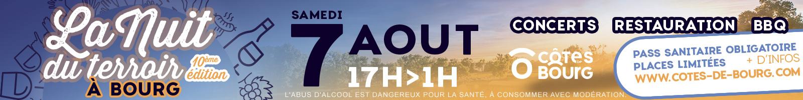 Nuit du Terroir Côtes de Bourg