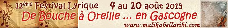 Festival de Bouche à Oreille en Gascogne
